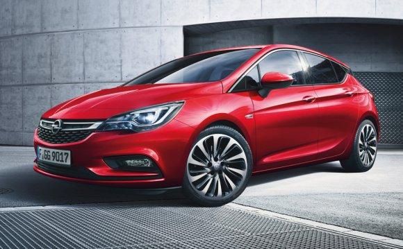 5-дверный Opel Astra