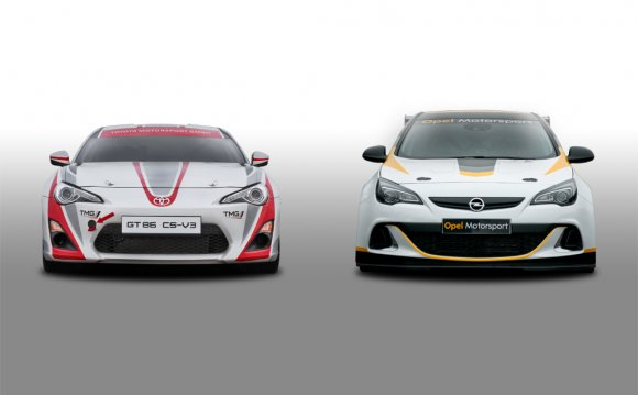 Astra OPC and GT86 with