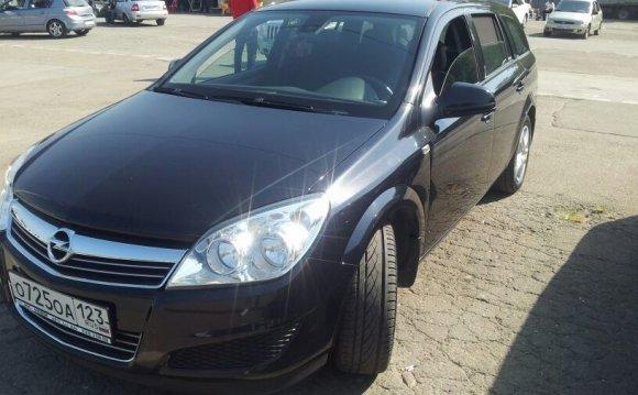 Opel Astra, 2013 — фотография