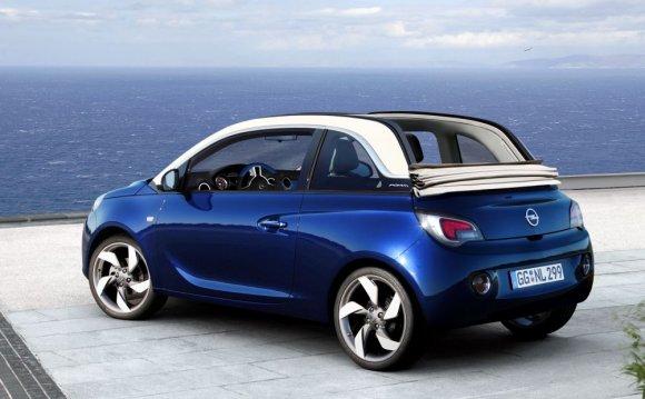 «Открытый» Opel Adam