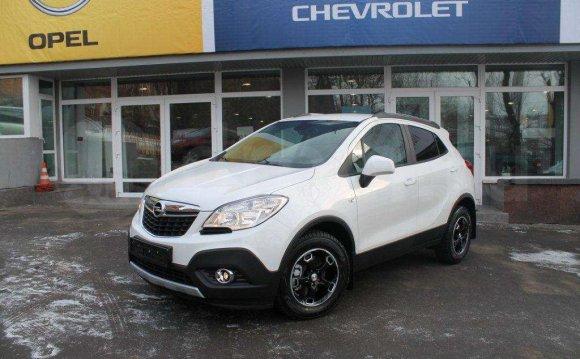 Opel Mokka, 2012 год