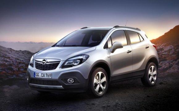 и дерзкий кроссовер Opel