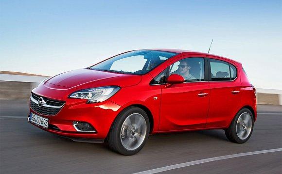 фото нового Opel Corsa E 2015