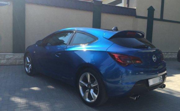 4) Пороги OPC для Opel Astra J