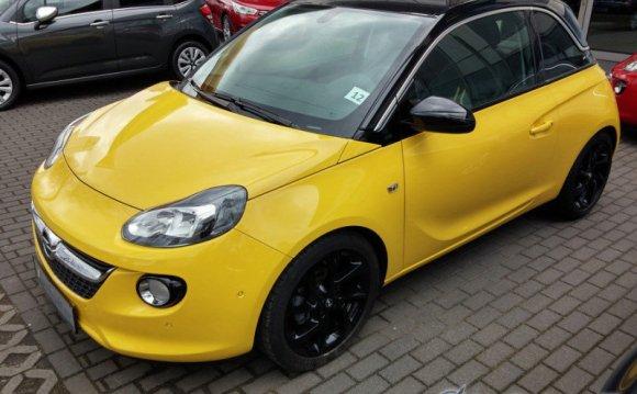 Opel Adam — в России от 690