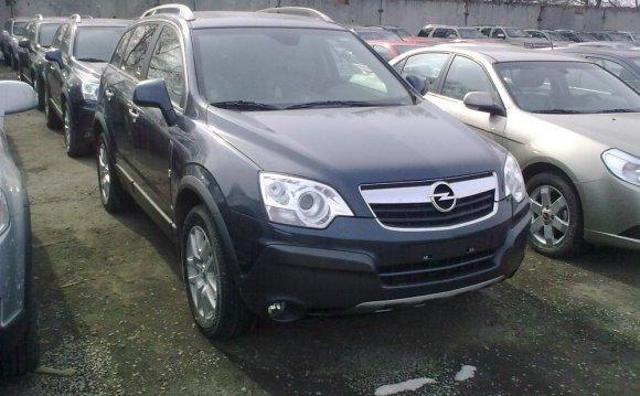 Opel antara отзывы