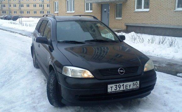Opel Astra 2004 — отзыв
