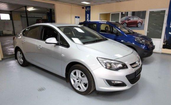 Opel Astra Казань