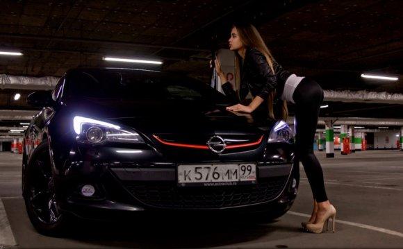 Opel Astra J GTC BlacKCaT #