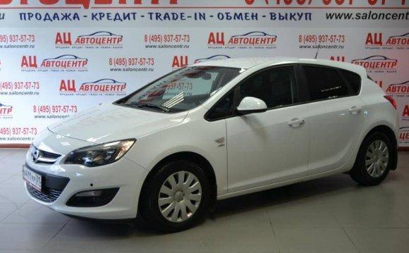 Купить б/у Opel Astra с