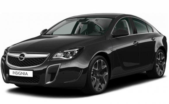 Opel Insignia OPC - цена