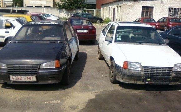 Opel Kadett E Моя мечта в