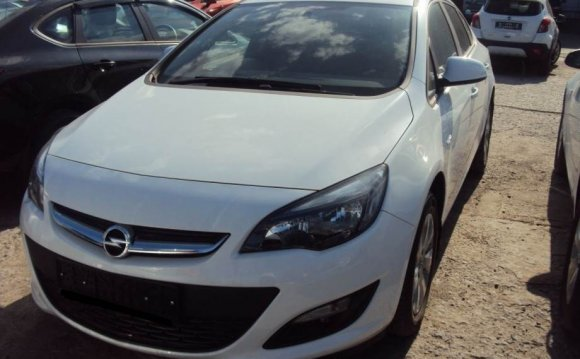 Opel Astra J Калуга