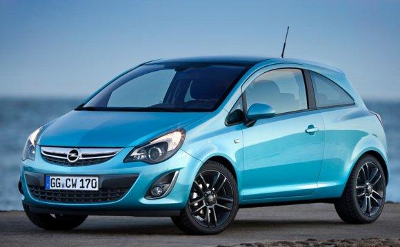 Opel Corsa - технические