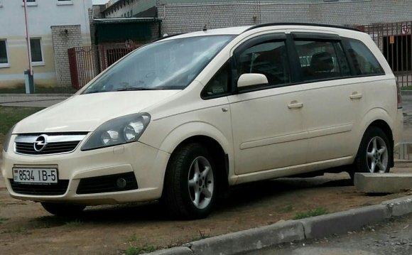 Opel zafira B CNG