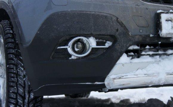 Opel Mokka клиренс дорожный