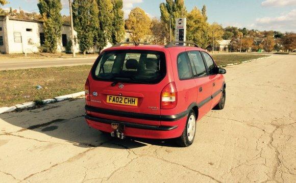 Opel Zafira запчасти