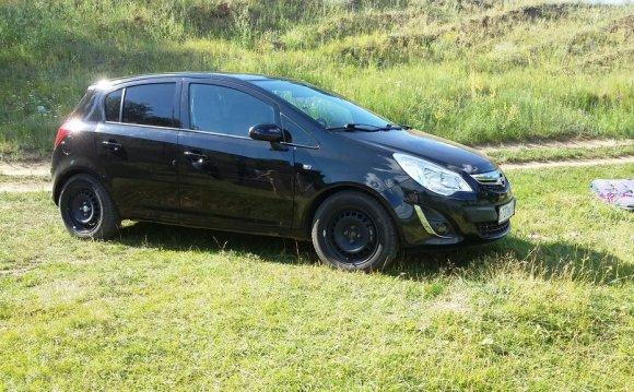 Opel Corsa 2011 отзыв