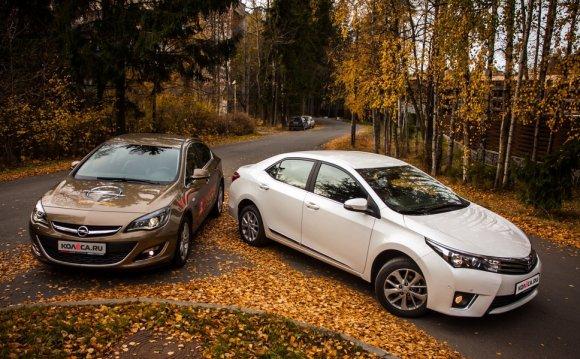 Тест-драйв Opel Astra Sedan и