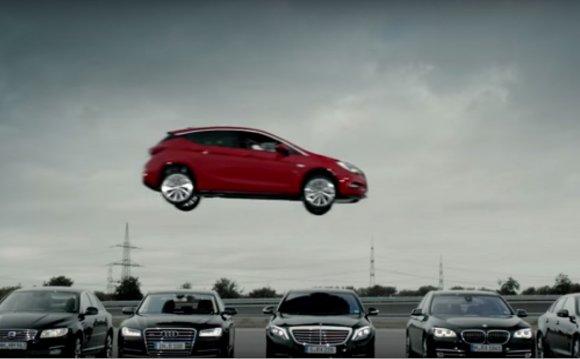 Видео: Необычная реклама Opel