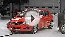 2008 Saturn Astra side crash test - Сатурн (Опель) Астра