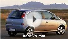 2002 Opel Meriva Walkaround and Info